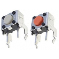 Pulsador Tact Switch acodado 6x6mm B3F 3.15