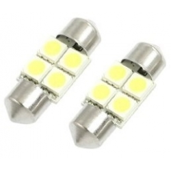 Festoon 4 Led 5050 de 31mm