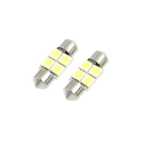Festoon 4 LED 5050 SMD de 31mm
