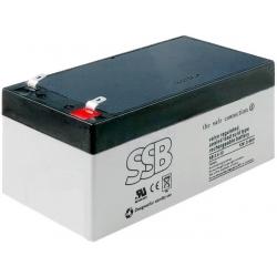 Bateria Plomo Gel recargable de 12v.3.4A