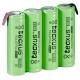Batería NI-MH TECXUS Recargable AA de 4.8v.