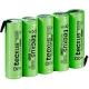 Batería NI-MH TECXUS Recargable AA de 6v