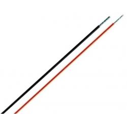 Cables de silicona de 1mm varios colores