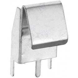 Clip Portapilas metálico pilas, baterías AA, R6