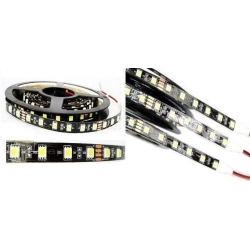 Tira Flexible de 60 Led 5050 fondo negro