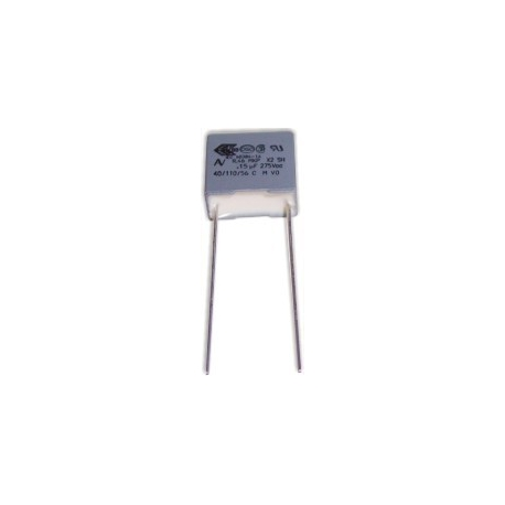Capacitor 150nF 275v X2 13x12x6mm
