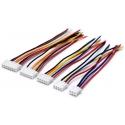 Conector JST XHP Polarizados 2.5mm Macho con Cables