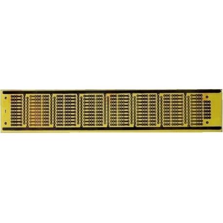 "Circuitos Impresos ""PCB"" taladrados 180x32mm"