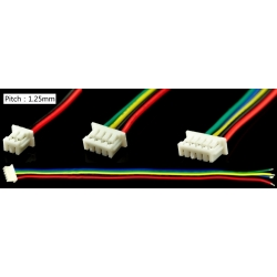 Conectores Mini JST 1.25mm con Cables