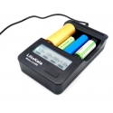 Cargador LiitoKala LI400 USB 4 bahías