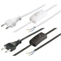 Cables Red Interruptor Blanco o Negro