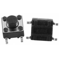 Pulsador Tact Switch de 6x6mm SMD