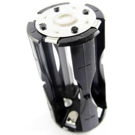Portapilas baterías Tubular 4 x AAA