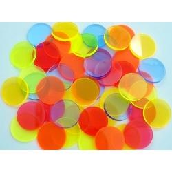 Filtros de colores de 25mm para Linternas