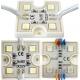 Modulo 4 led 5050 smd resina 36x36x5mm