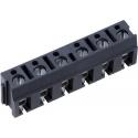 Bornas circuito impreso Gris 7.5mm Alta corriente