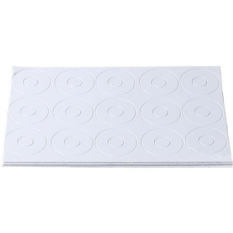 Aislantes de papel para Baterías 17-6.5mm Blanco