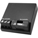 Caja para montajes de ABS de 46x46x13mm