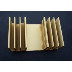 Disipadores Térmicos Dorados 82x52mm