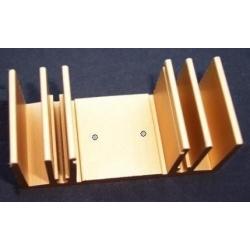 Disipadores Térmicos en U 64x33x29