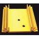 Disipador Térmico Rectangular 50x50x12mm anodizado en Oro