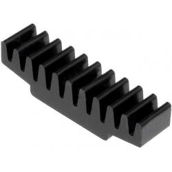 Disipador Térmico Recatangular de Peines 30x7.5x7.5mm