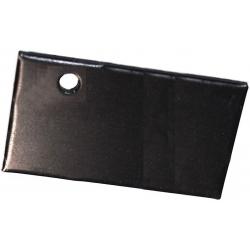 Disipador Plano 40x20x1.6mm Anodizado en Negro