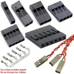 Conector Dupont paso 2.54mm
