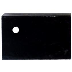 Disipador Térmico en L 47x30x10mm Negro