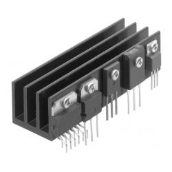 Disipador Térmico de Aletas de 55x34x60mm
