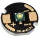 PCB 14x2mm Negro para Led CREE XT-E
