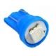 Bombilla LED T10 1 Led 5050 3 chip 12v Azul