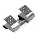 Clip Doble Negativo para Porta Pilas y Baterías AA/R6