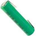 Batería NI-MH BYD Recargable AAA de 1.2v.Lengueta