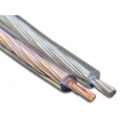 Cable Paralelo 2x0.22 transparente