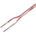 Cable Paralelo Transparente Polarizado Banda Roja Roja en rollos