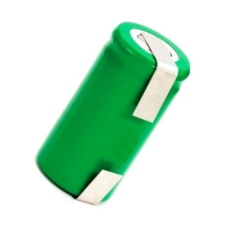 Batería NI-MH Recargable C 1.2v.2.5A. con lengueta