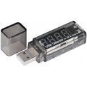 Tester USB XStar 4,5V-6V, 0-2,5A