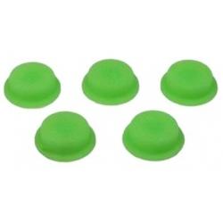 Boton Goma Verde 18x14x6mm Linternas