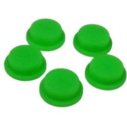 Boton Goma Verde 20x16x8mm Linternas