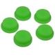 Boton de Goma 17x14x6mm Verde para Pulsadores/Interruptores