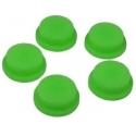 Boton Goma Verde 17x14x6mm Linternas