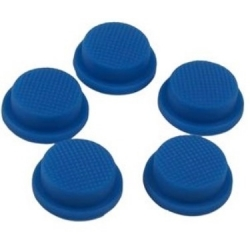 Boton de Goma 20x16x8mm Azul para Pulsadores/Interruptores