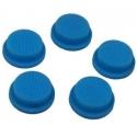 Boton Goma Azul 17x14x6mm Linternas