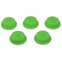 Boton Goma Verde 18x14x8mm Linternas