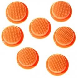 Boton Goma Naranja 18x14x8mm Linternas