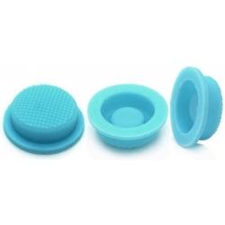 Boton de Goma Azul