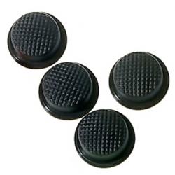 Boton Goma Negro 18x14x8mm