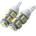 Bombilla LED T10 9 Led 5050 3 chip SMD 12v