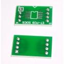 Pcb adaptador SMD So8-Dip8